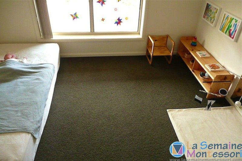 Une chambre montessori pour le nouveau n la semaine montessori b b chambre montessori - Chambre nouveau ne ...