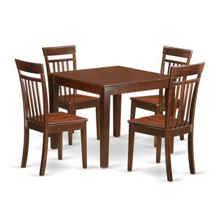 5 Piece Kitchen Table Set With One Oxford Dining Room Table And