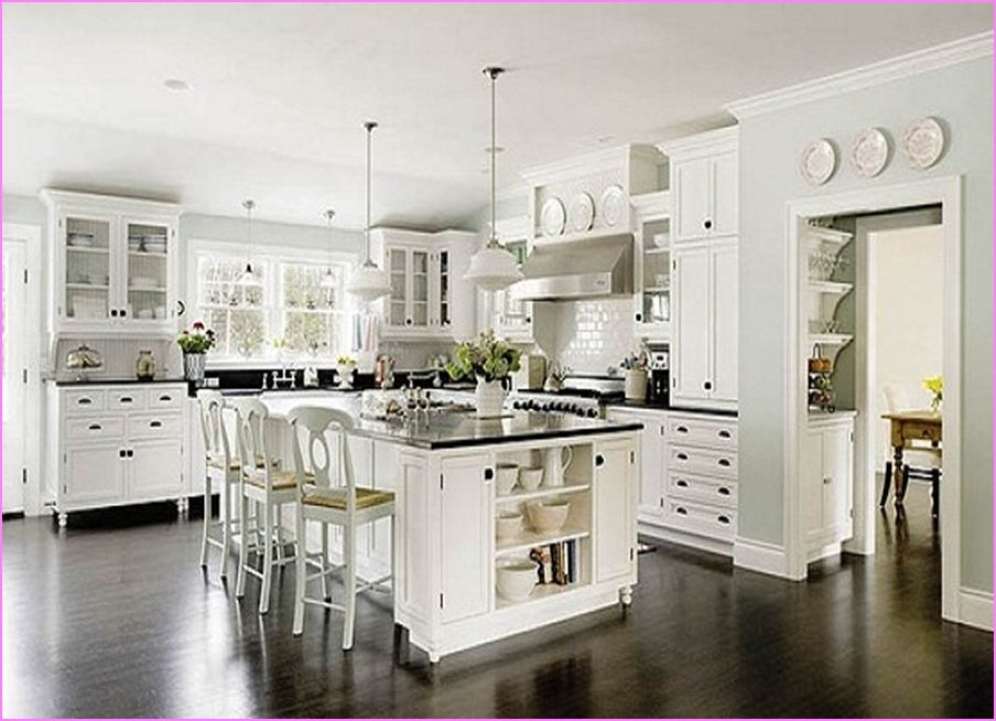 Kitchen Paint Colors With White Cabinets Prepossessing What Color Should I Paint My Kitchen Cabinets With White Design Ideas