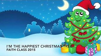 I M The Happiest Christmas Tree Youtube Cartoon Christmas Tree Christmas Cartoon Pictures Christmas Concert Ideas