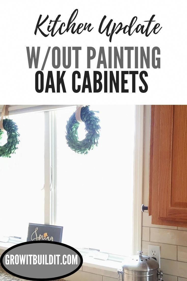 Looking for how to update your kitchen with honey oak ...
