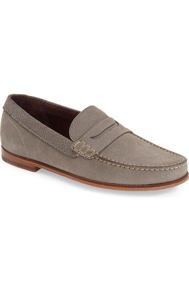 TED BAKER 'Miicke 2' Penny Loafer (Men). #tedbaker #shoes #flats