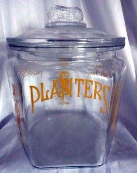 Planters Peanuts Jar Planters Peanuts Jar Vintage Jars
