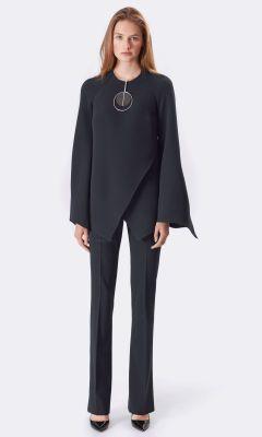 Jaidynn Silk Blouse - Collection Apparel Long-Sleeve - RalphLauren.com