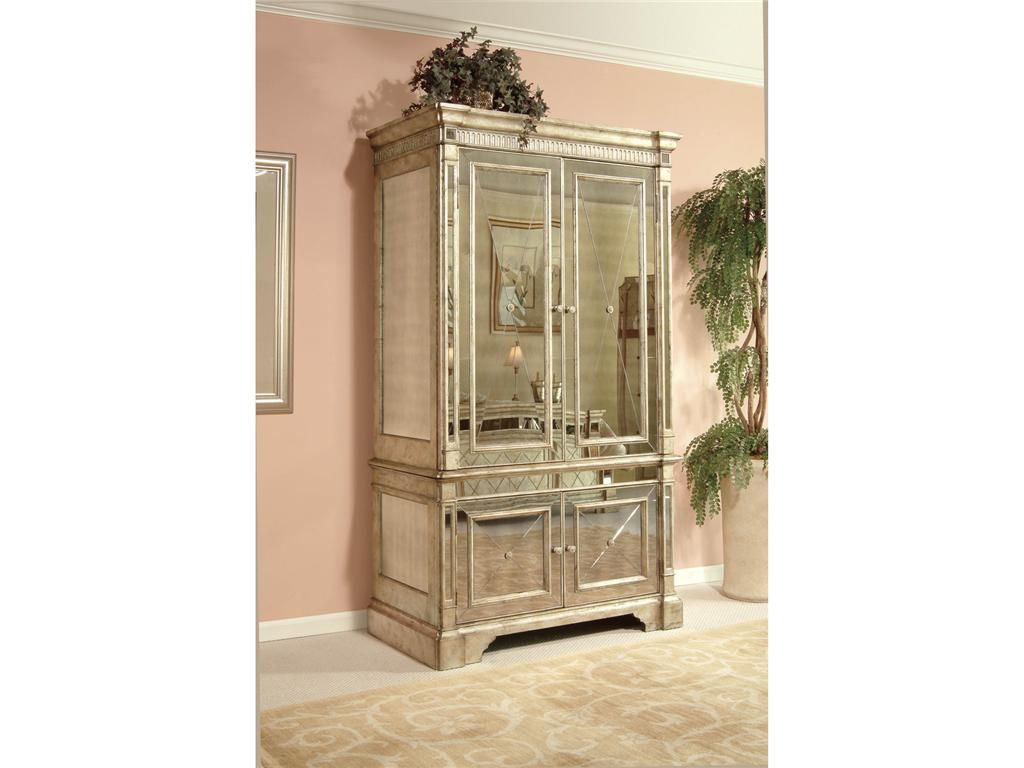 entire collection....Isa has to have this!!Classica Bedroom Mirrored Media Cabinet 8311-567 - Osmond Designs - Orem, UT
