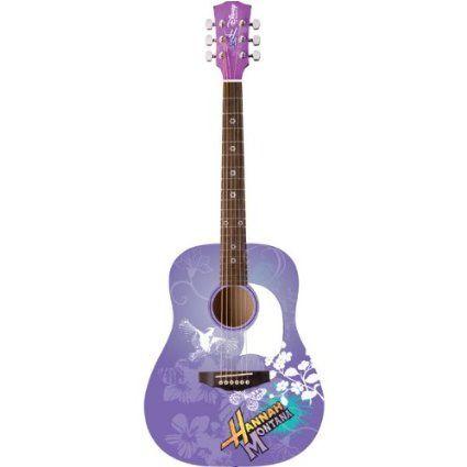 Disney Hannah Montana puple guitar Girls Socks