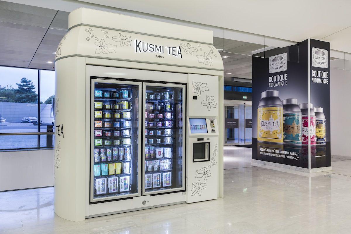 Kusmi Tea inaugure son Kusmikiosk à Paris, une boutique 100 ...