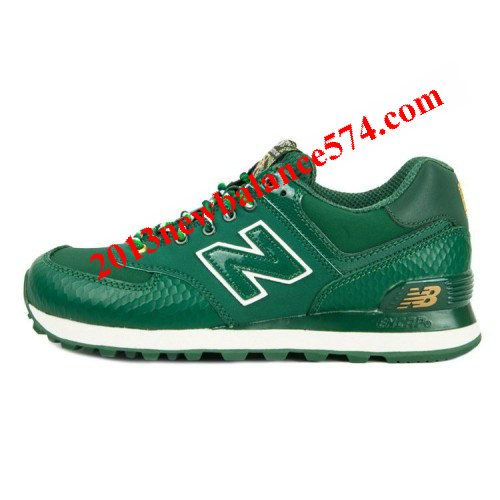 New Balance ML574SDG Year of Snake 2013 Green Golden women shoes,Half Off New  Balance e98504c2309a