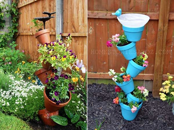30 easy and inexpensive do it yourself outdoors pots there is a 30 easy and inexpensive do it yourself outdoors pots there is a constant solutioingenieria Gallery