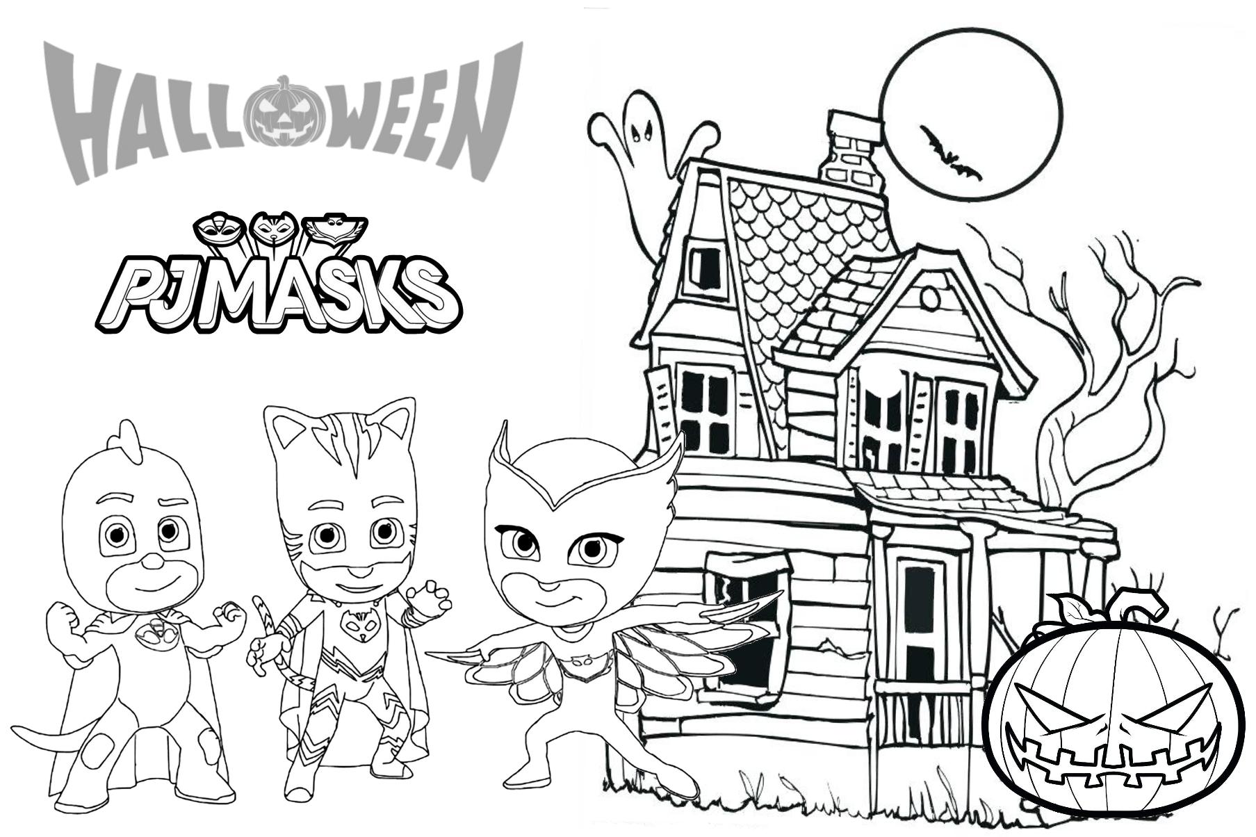 Pj Masks Printables Coloring Pages