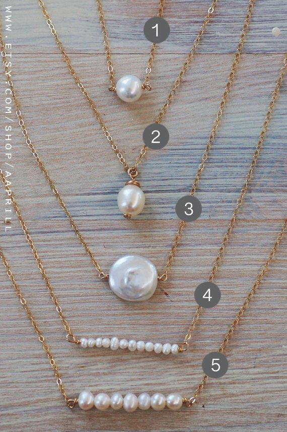 Pearl bar necklace simple pearl necklace pearl and gold by aaprill pearl bar necklace simple pearl necklace pearl and gold by aaprill aloadofball