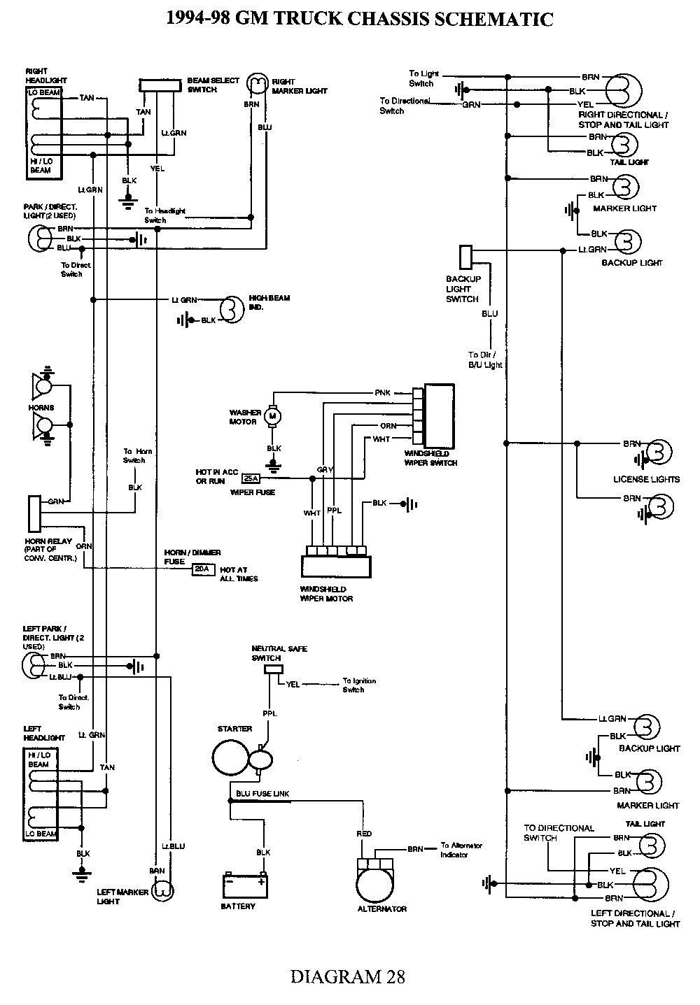 77 Awesome 2002 Chevy Silverado Tail Light Wiring Diagram Trailer Wiring Diagram Electrical Diagram 2005 Chevy Silverado