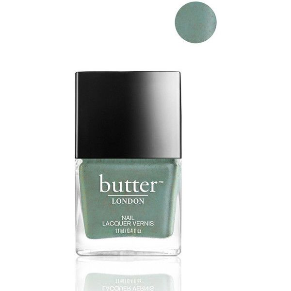 butter LONDON Two Fingered Salute Nail Lacquer ❤ liked on Polyvore featuring beauty products, nail care, nail polish, butter london nail lacquer, butter london nail polish and butter london