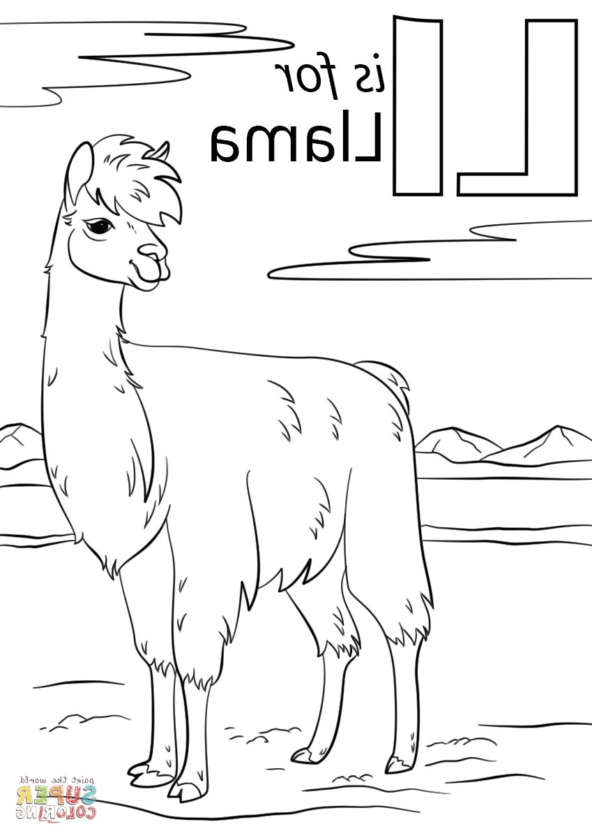 Llama Coloring Pages Coloring Pages Funny Coloring Book Sunday School Coloring Pages