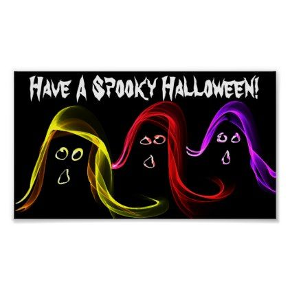 Have A Spooky Halloween\ - halloween poster ideas