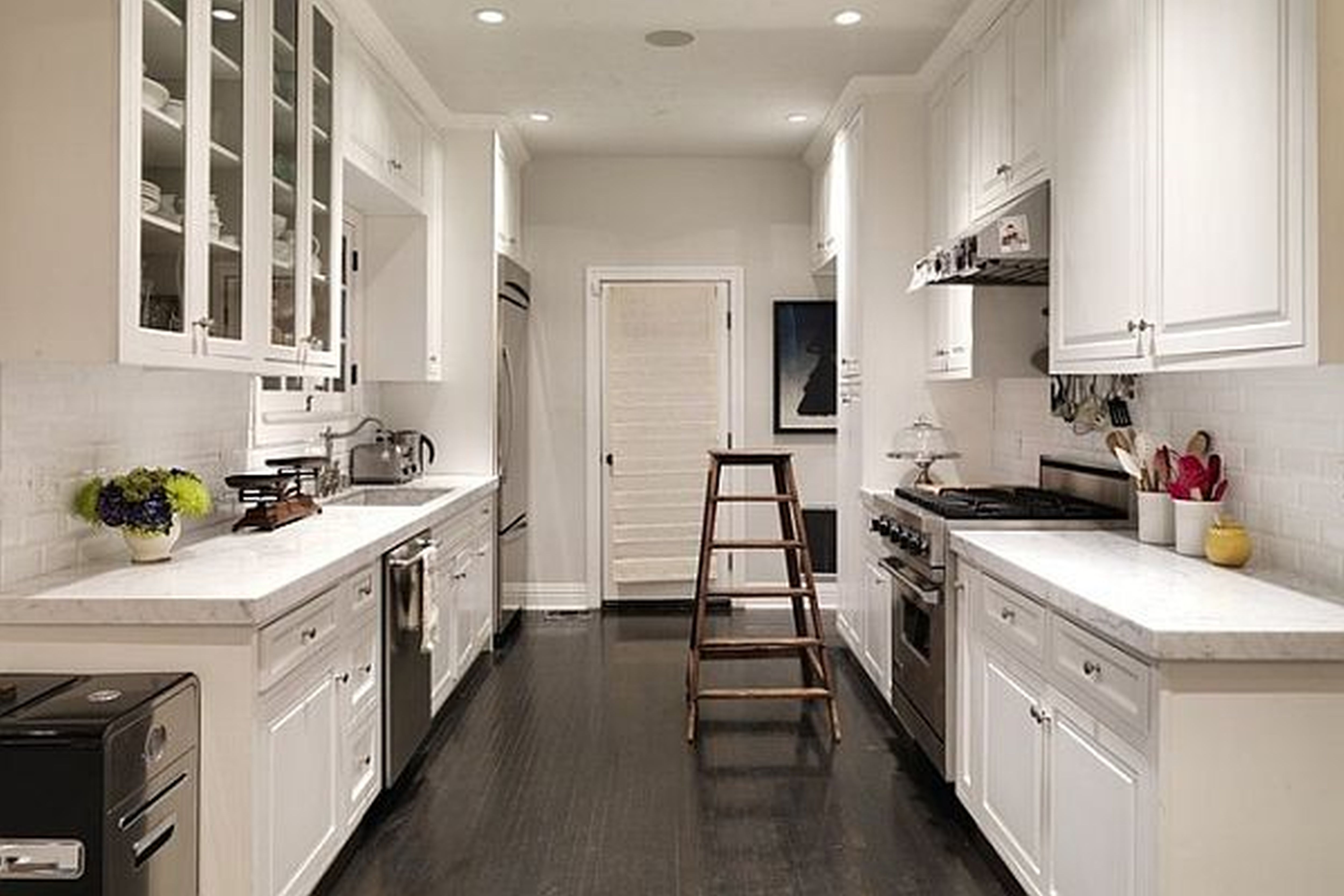 Small Galley Kitchen Remodel Design Ideas With Photos Of