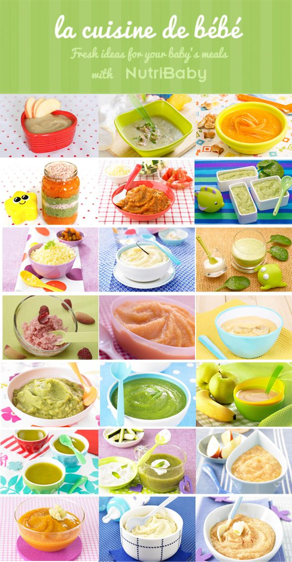 Homemade Baby Food Recipes From 6 To 9 Months Cook Delicious Baby