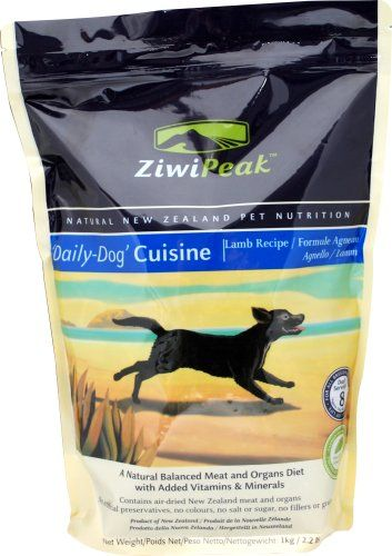 Ziwipeak Real Meat Grain Free Air Dried Dog Food Venison Dog