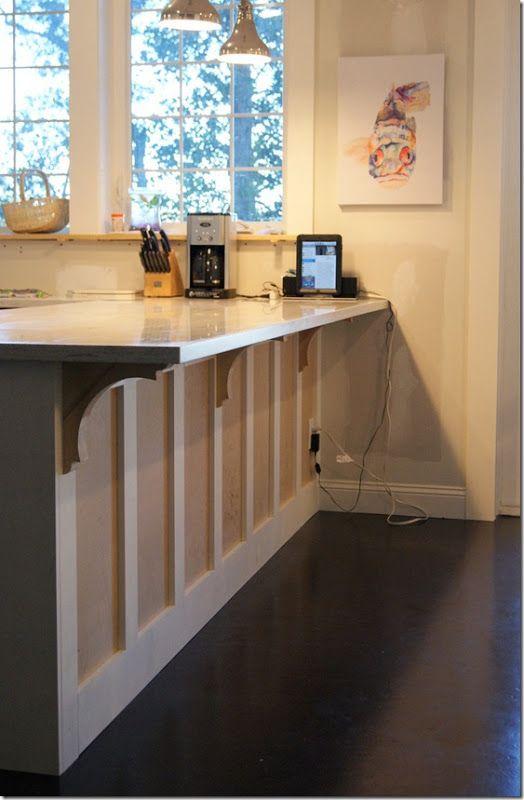 Side Island Kitchen Island Panels Shaker Style Kitchens