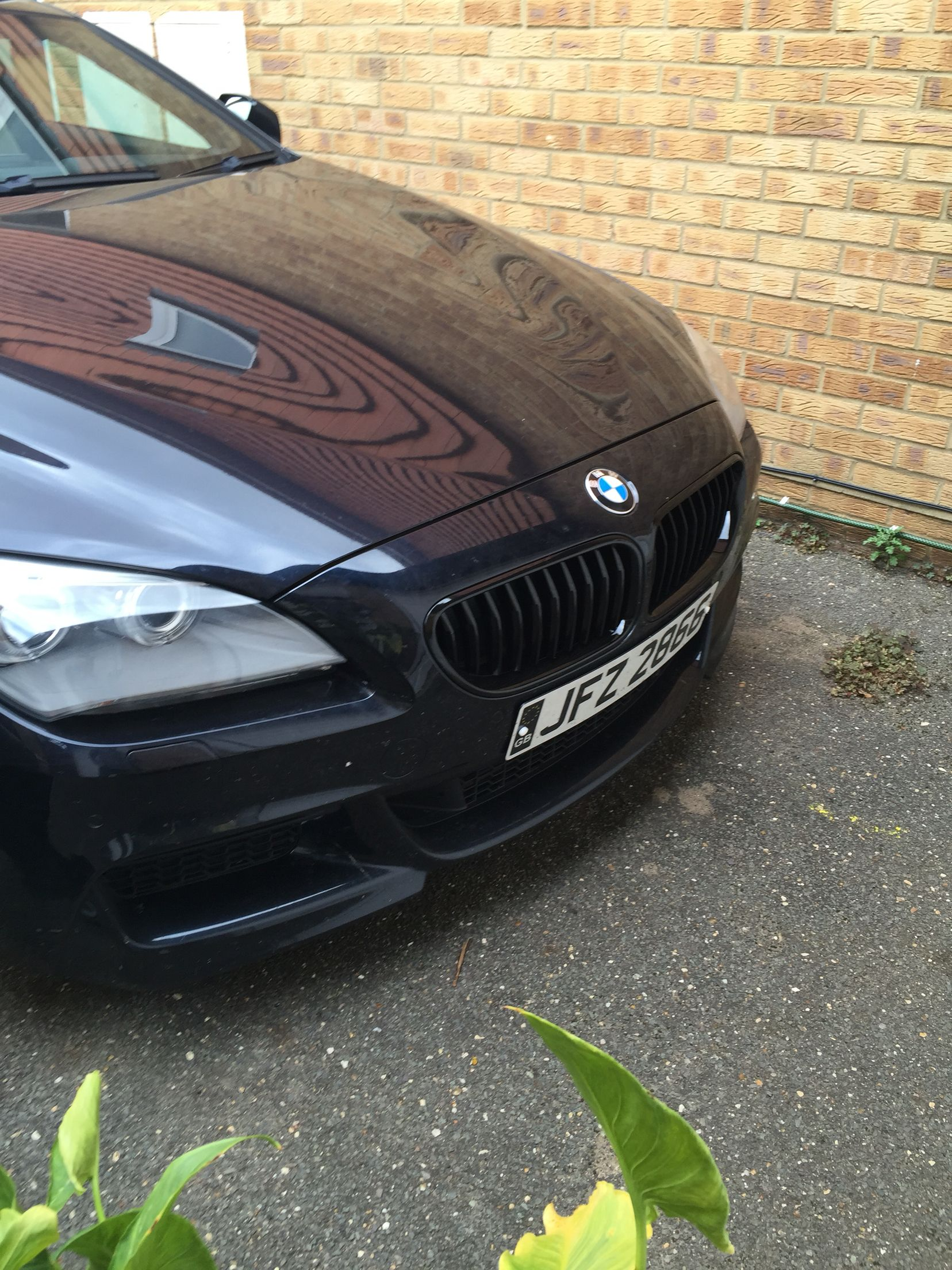 Gloss Black 640d F13 Grill Added