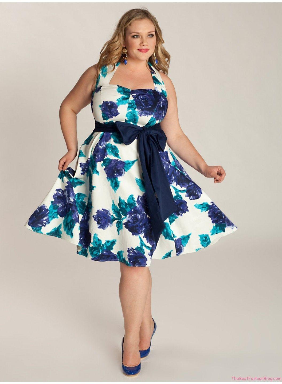 Beautiful Plus Size Summer Dresses