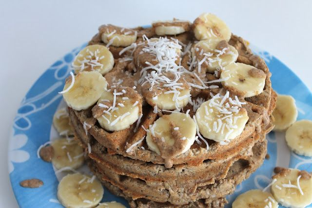 Gluten Free Vegan COCONUT WAFFLES. I literally bought a waffle iron so I can make these.