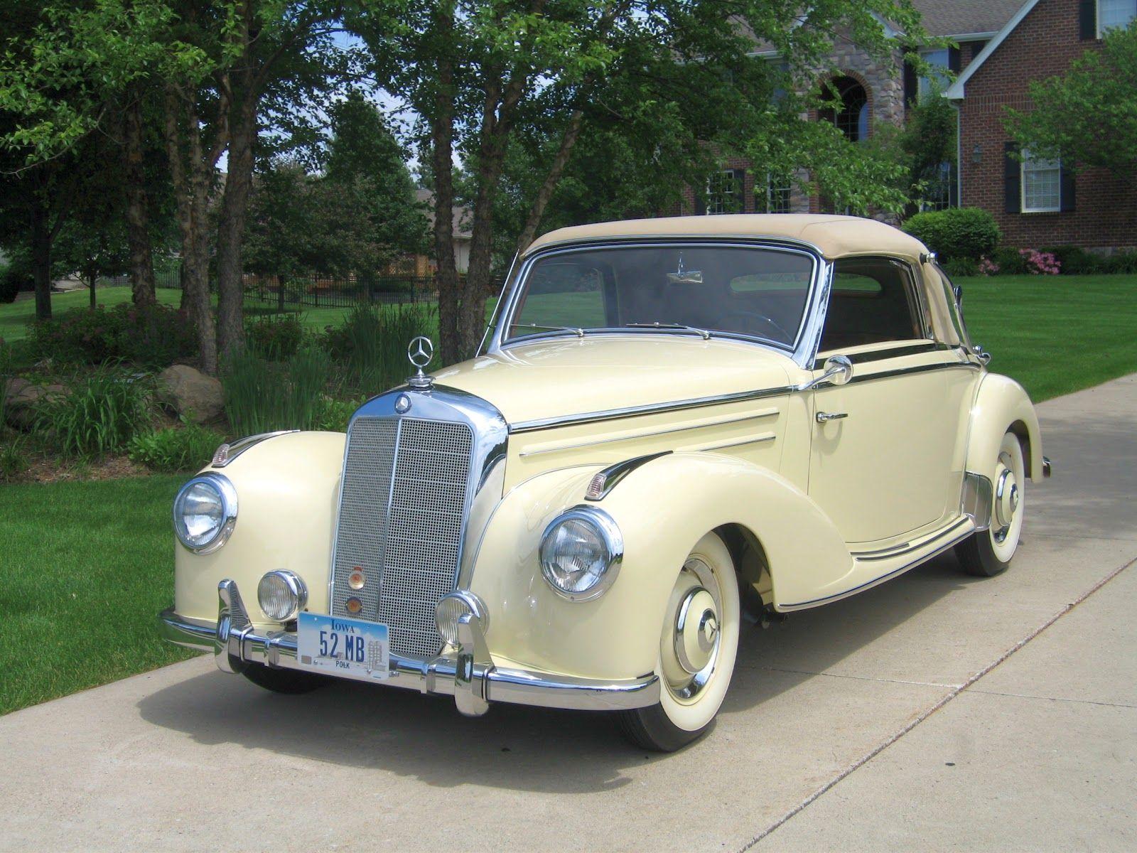 Mercedes benz 220 cabriolet a 1952 design antique for 1952 mercedes benz