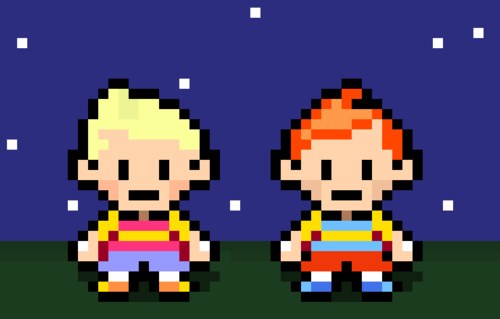 Lucas And Claus Pixelthat Mother 3 2006 My Inner Geek