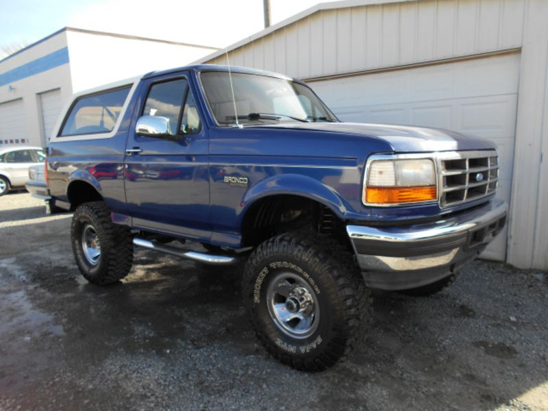1996 Ford Bronco For Sale Blue Used 1996 Ford Bronco Xlt Ford