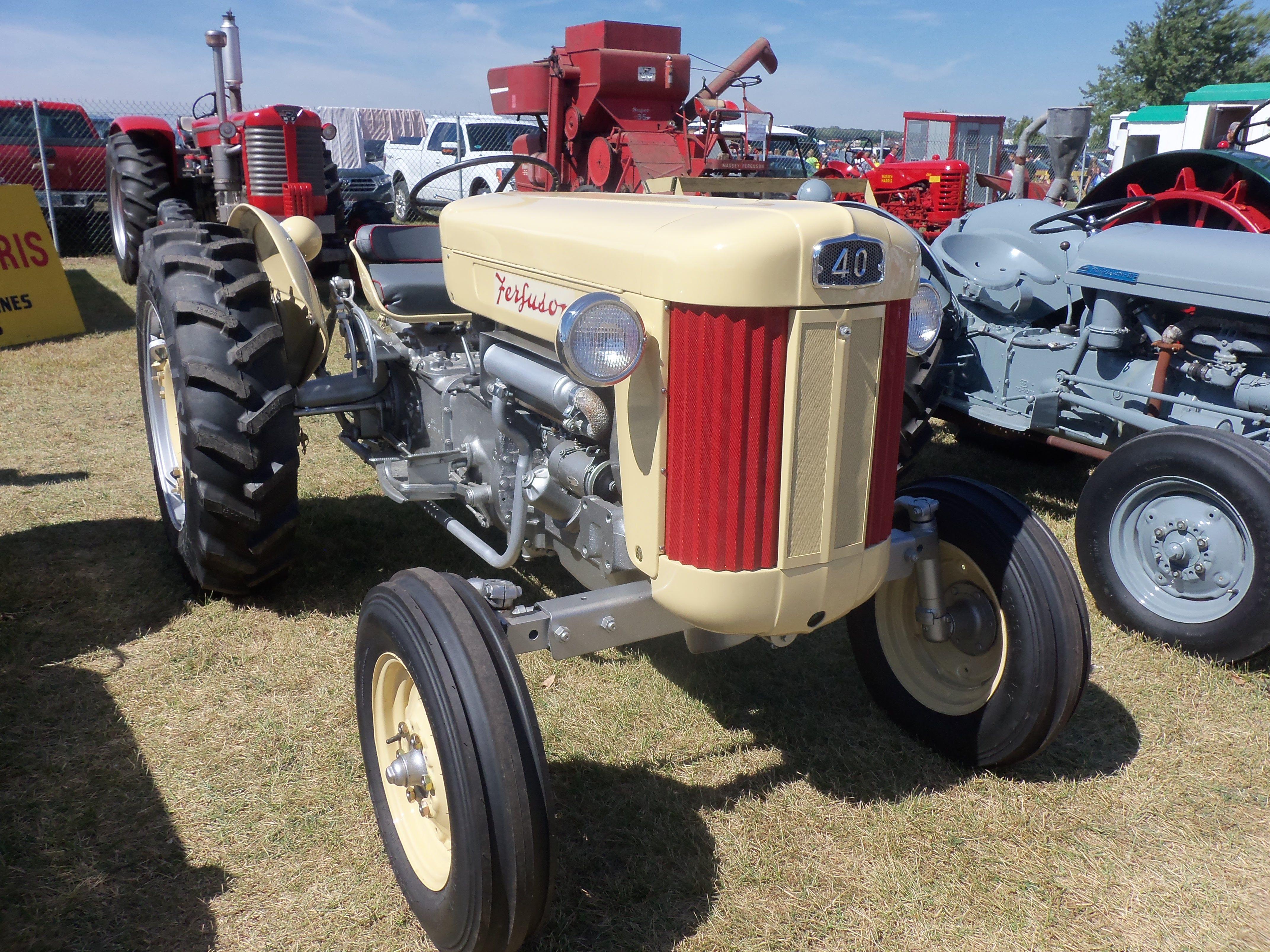 Ferguson 40 Industrial Tractor : Ferguson tractor massey pinterest