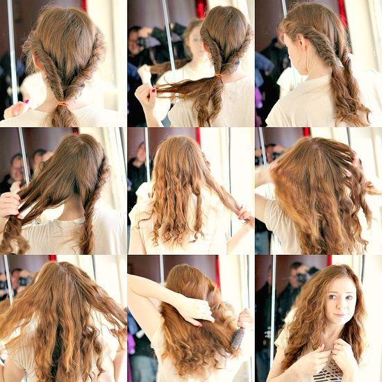 Como peinar cabello corto sin plancha