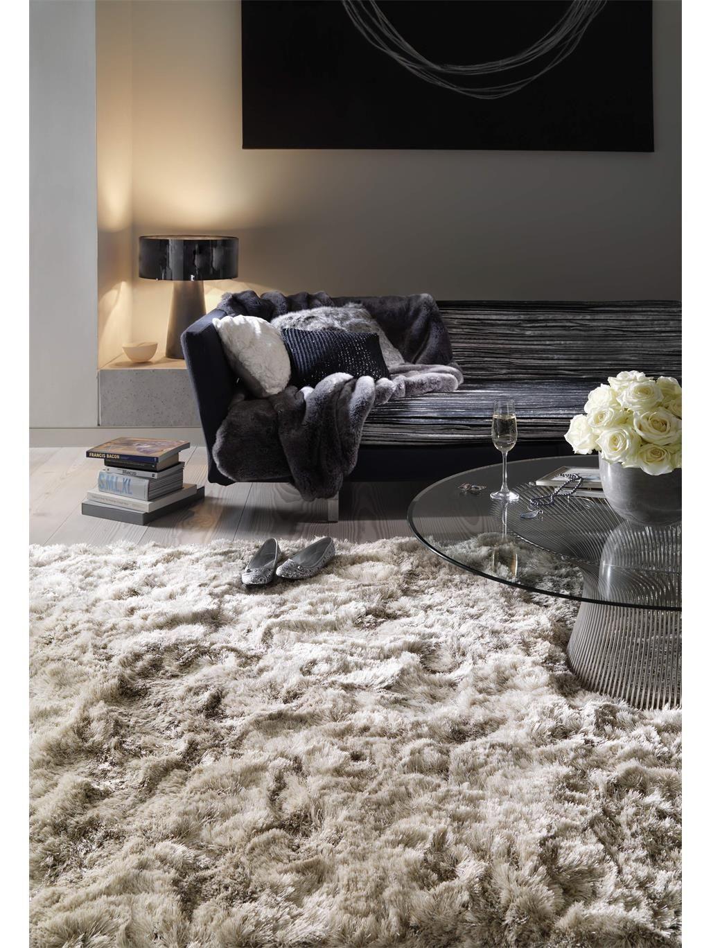 benuta Hochflor Teppich Bright günstig online kaufen  Teppich