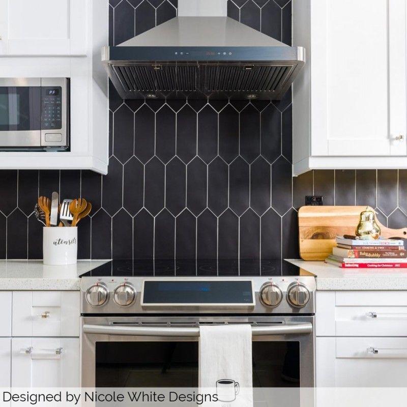 16+ Elongated hexagon tile backsplash kitchen trends