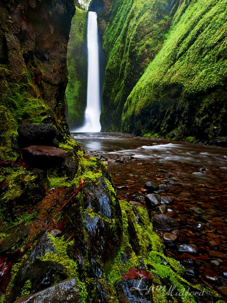 Oneonta Falls, Columbia River Gorge Oregon