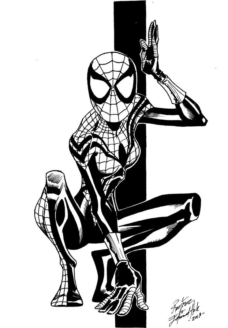 Spider Woman With Images Avengers Coloring Pages Avengers
