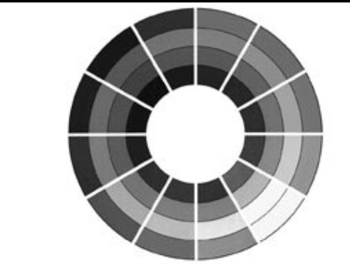 B Achromatic Color Wheel An Achromatic Color Scheme Is Simply