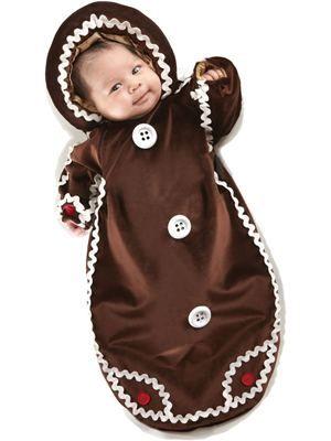 Gingerbread Baby Bunting Costume Halloween Costume Ideas - halloween costume ideas for infants