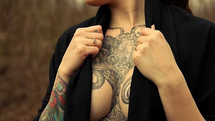 Best Chest Tattoos Jaw Dropping Ink Masterpieces Chest Tattoos For Women Tattoo Girl Wallpaper Beautiful Tattoos