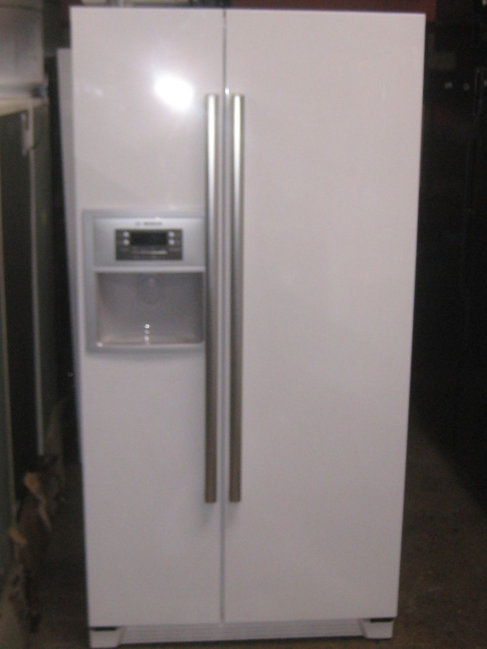 Appliance city bosch evolution series cubic foot side by