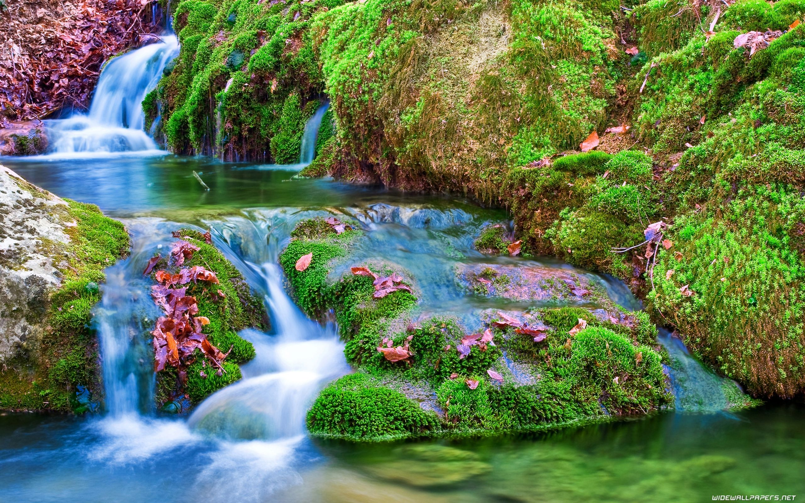 Waterfalls desktop wallpapers K Ultra HD Водопады