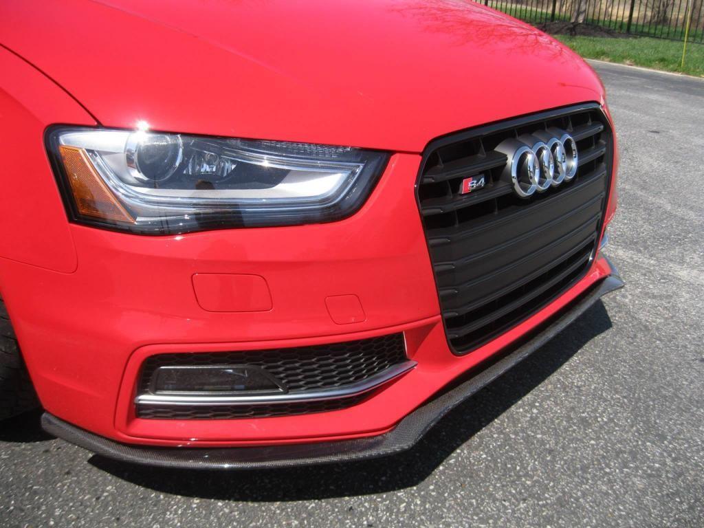 Teaser deval b8 5 s4 carbon fiber front lip spoiler page 4