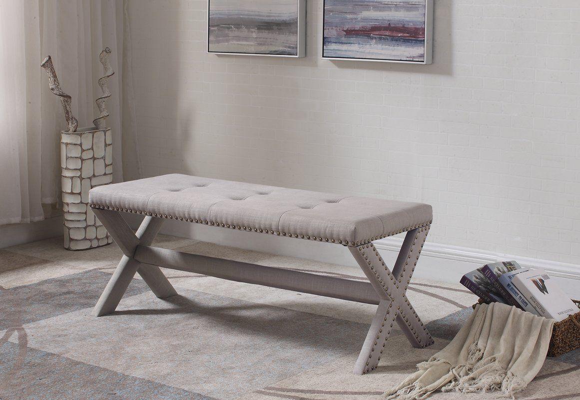 Vanslyke Upholstered Bedroom Bench