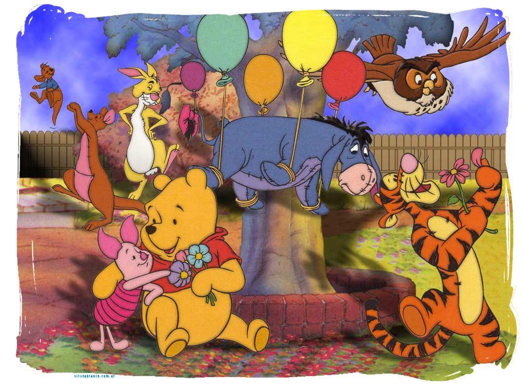 Tarjetas De Cumpleaños Winnie Pooh Bebe Para Imprimir 11 En HD ...