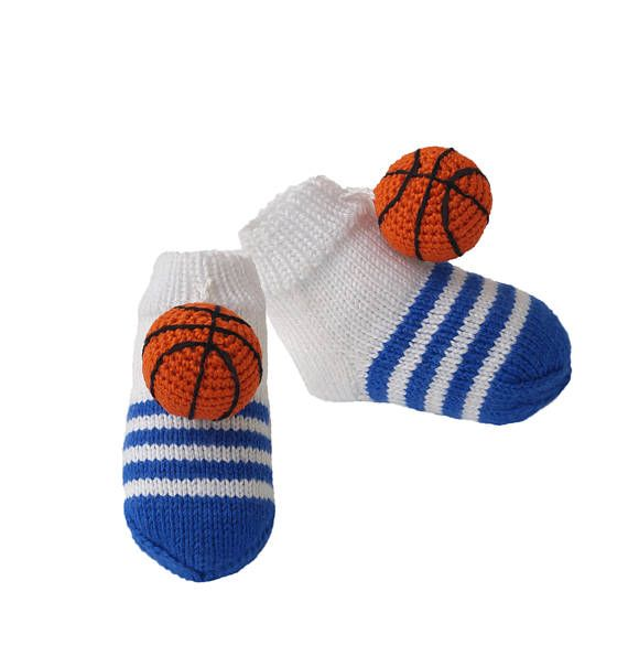 Baby Socks Soft Baby Booties Basketball Socks Booties Etsy Artist