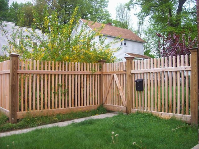 Fence Photo Galleries Afsco Fence Company Fence Wood Fence Garden Fence