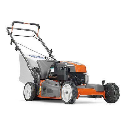 husqvarna hu725f 22 190cc 3 in 1 front wheel drive lawnmower rh pinterest com