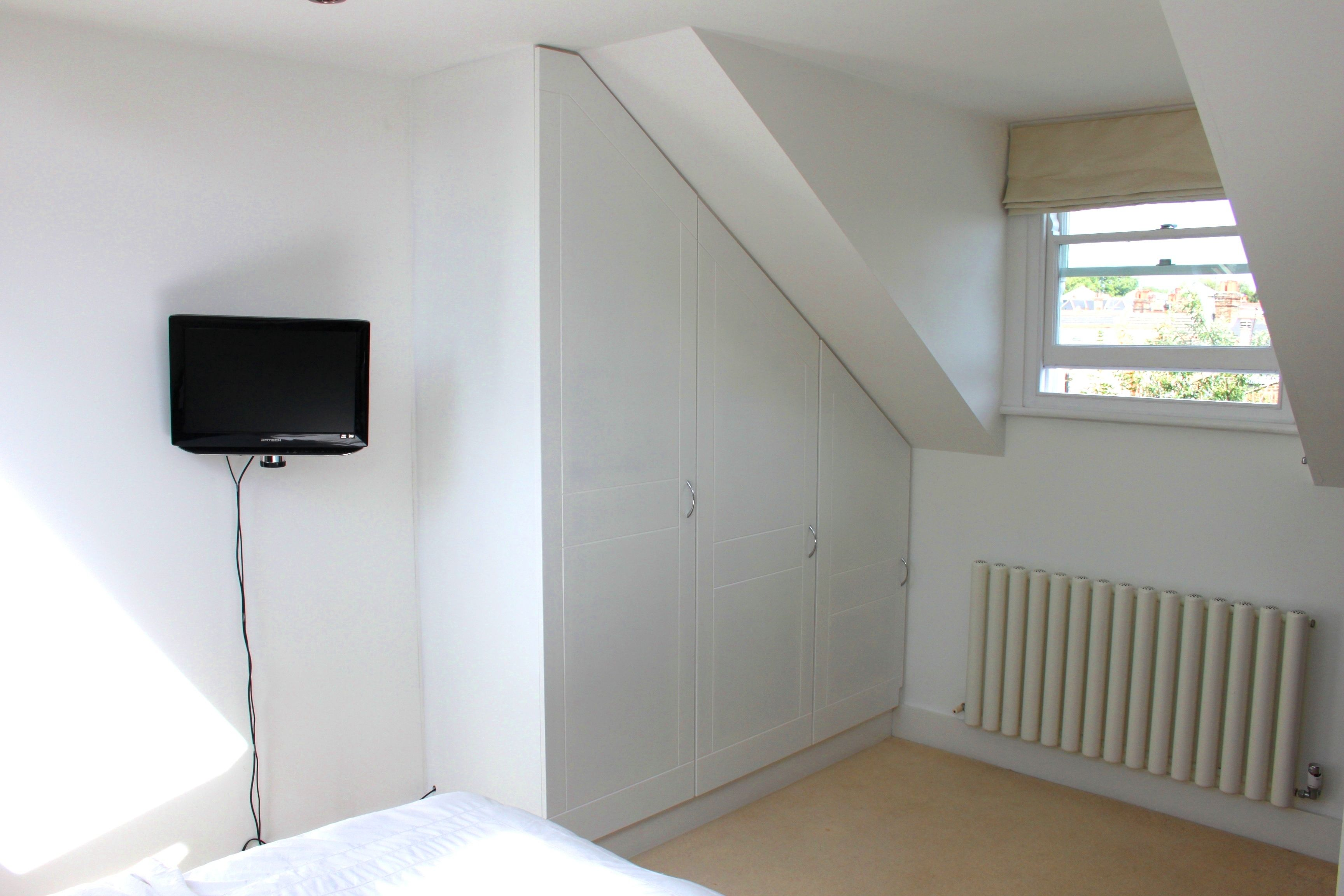 Awkward Spaces In Loft Conversions Can Be Maximised For Storage Loft Conversion Loft Room New Homes