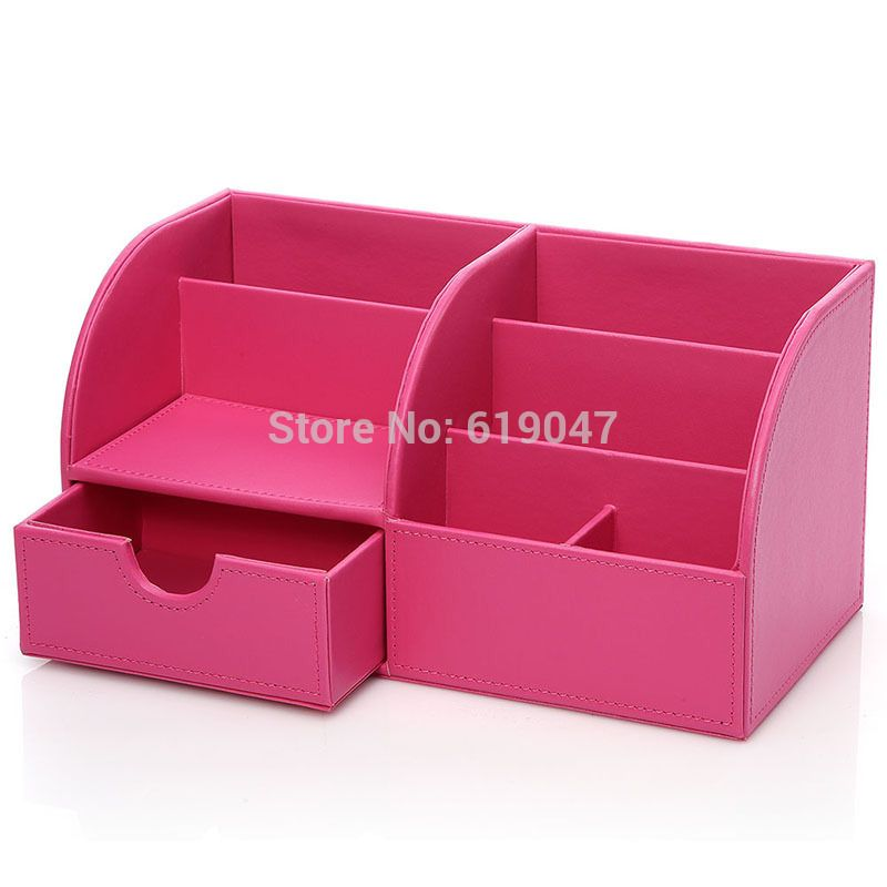 Decorative Stationery Boxes Decorative 5Slot Office Desktop Stationery Holder Home Dresser
