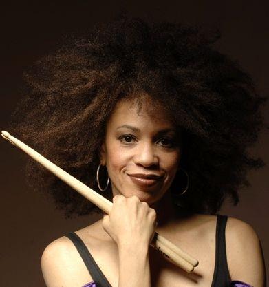 Cindy Blackman American Jazz Rock Drummer And Bandleader She