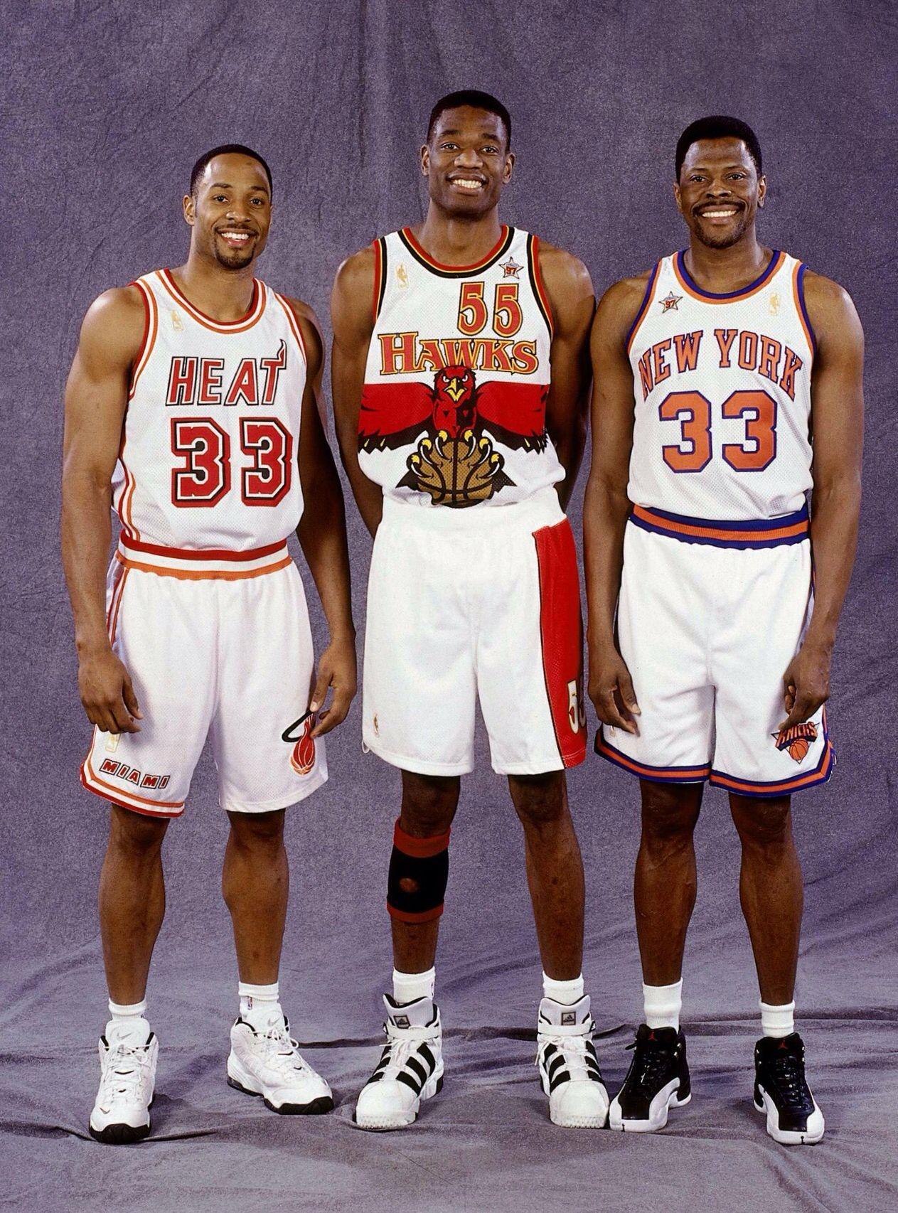 newest 1c546 32b2e Georgetown Centers: Alonzo Mourning, Dikembe Mutombo and ...